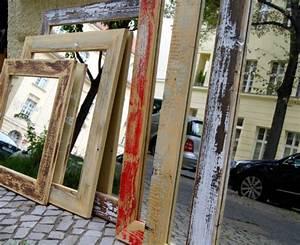 Spiegel Zum Aufstellen : vintage spiegel mit holzrahmen ~ Whattoseeinmadrid.com Haus und Dekorationen