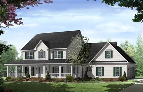 Traditional Country House Plans by Stonewood Country Home Plan 077d 0283 House Plans