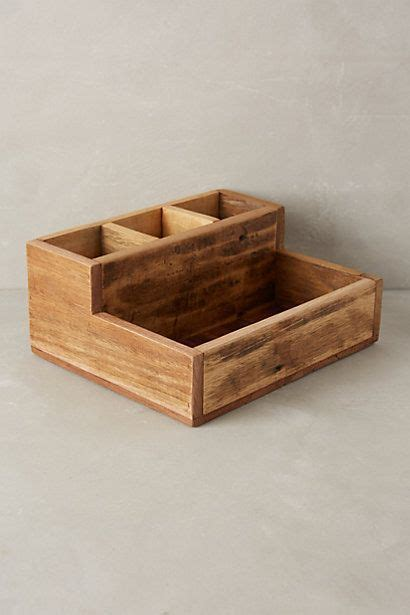 reclaimed wood catchall anthropologiecom wooden