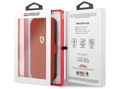 Iphone 12 mini camo fusion x case $14. Ferrari On Track Bookcase iPhone 12 Pro Max Hoes Rood