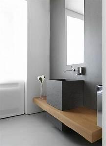 meuble salle de bain bois 35 photos de style rustique With salle de bain design avec support carton à décorer
