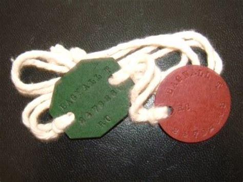 ww ww british identity discs  tims tags