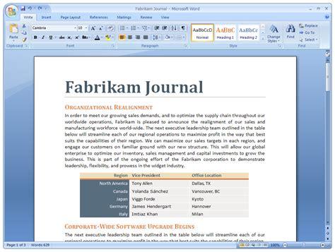Microsoft Office Word 2007 new office 2007 ui amarjeet s