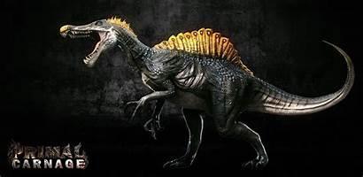 Primal Spinosaurus Carnage Artstation Jurassic Spino Island