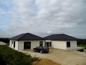 maison bois enduit exterieur chalons becokit maisons With photo bardage bois exterieur 6 maison ossature bois plain pied