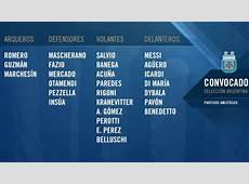 Sampaoli completó la lista para jugar ante Rusia y Nigeria