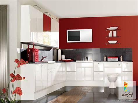 images of interior design for kitchen مطابخ باللون الاحمر 50 تصميم مودون لإختيار ديكور مطبخك 8975