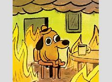 Burning Room This Is Fine GIF Find & Share on GIPHY