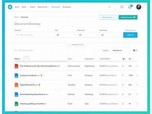 document management for enterprise by justin kwak dribbble With documents management app