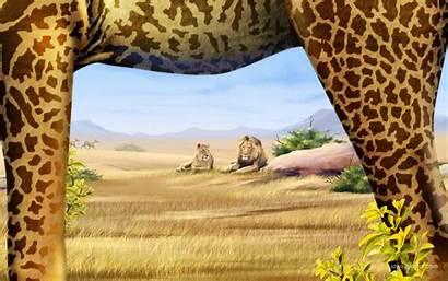 Safari Background Wallpapers Wall
