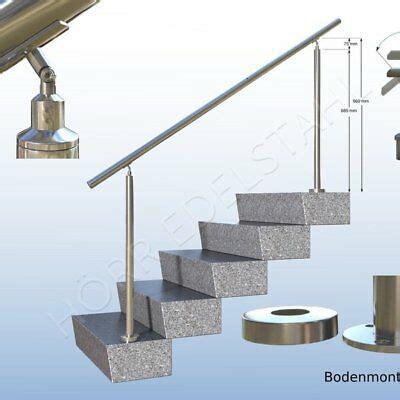 Wäscheständer Balkon Befestigen by Edelstahl Gel 228 Nder Treppengel 228 Nder Boden Handlauf O