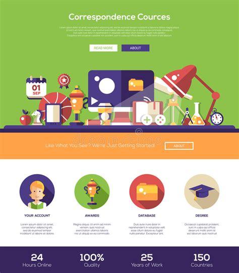 learning website header banner  webdesign elements