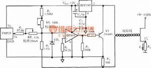 4 20ma temperature transmitter circuit using voltage With circuit temperature sensor with 4 to 20ma current loop circuits