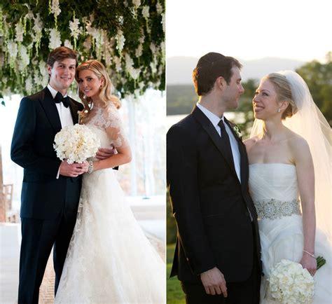 chelsea clinton  ivanka trump    weddings