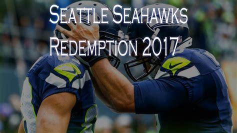 seattle seahawks   redemptionnot finished