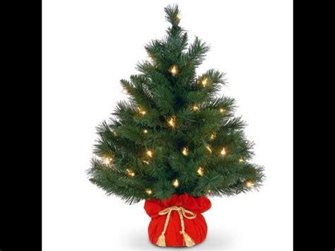 3ft real tree at lowes artificial trees 2 best 24 inch artificial