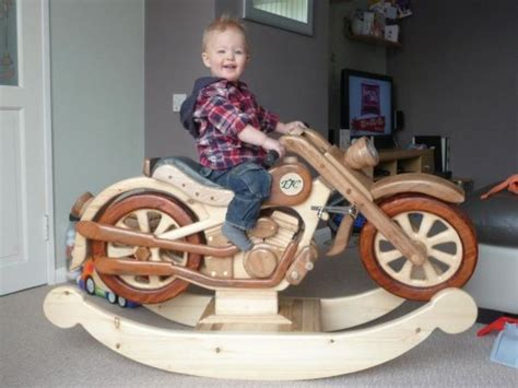 motorcycle rocking toy plans woodworking projects plans