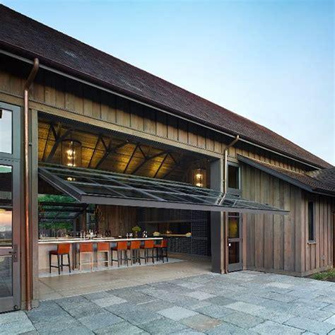 glass garage door ideas  rock   interiors