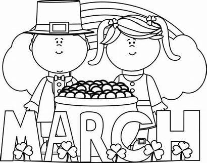March St Patrick Clip Clipart Month Saint