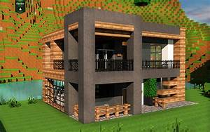 Maison Moderne Minecraft www pixshark com Images Galleries With A Bite!