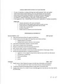 Animal Care Resume Objective by Letter Of Intent Sle Teaching Resume Cover Letter