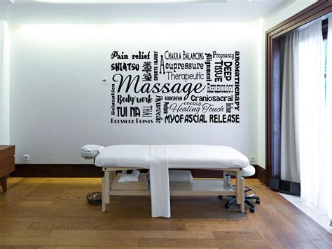 More than 26 massage wall art at pleasant prices up to 21 usd fast and free worldwide shipping! Massage wall decal, spa decor, massage therapy, spa wall decal, massage therapist gift, massage ...