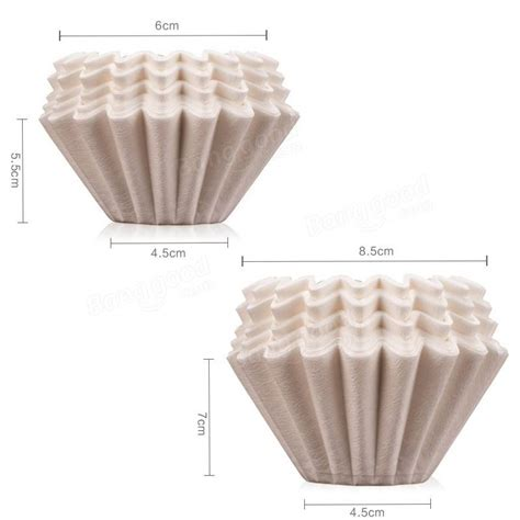 Line a pour over or drip basket with a paper towel. 50 pcs Coffee Filter Paper Bowl Fit with No.185 Filter Paper Drip Cup Coffee Filter Baskets at ...