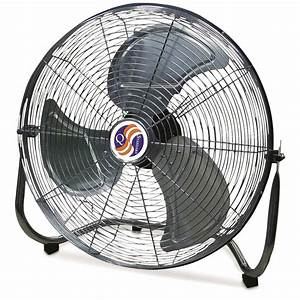 Q Standard 20 U0026quot  High Velocity Floor Fan