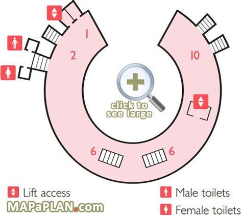 royal albert hall detailed seat numbers seating plan