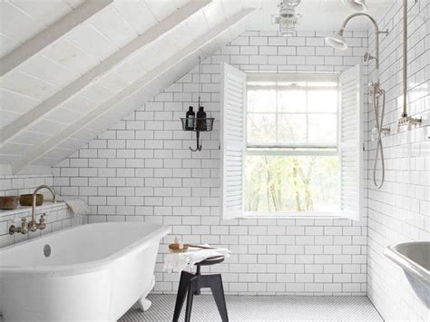 How To Get Bathroom On Office by Bathroom Attic Space The Entire Room Is Tiled And