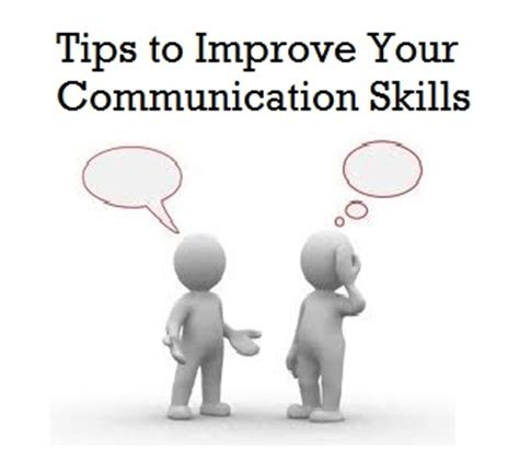 improve your communication skills how to be at