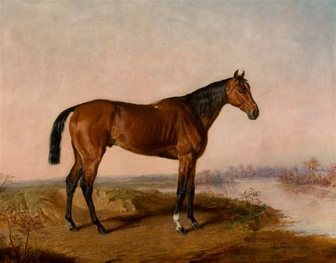 kentucky horse edward troye thoroughbred painting horses race usa racing 1808 1874 paintings wahooart thoroughbreds reproductions wikipedia switzerland portrait lexington