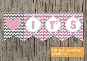 Birthday Boy Banner Digital Girl Baby Shower Banner Gum By