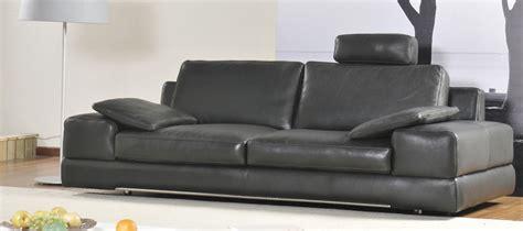 canapé amovible pourquoi la tendance est aux canapés cuir avec têtières