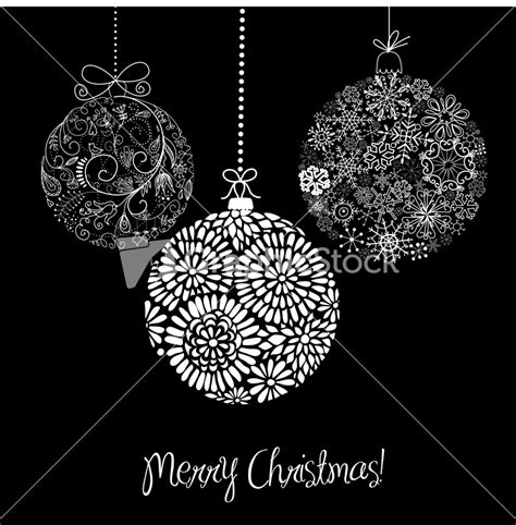 black and white christmas ornaments black and white christmas ornaments