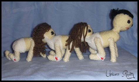 human centipede plushie  plushies friends crochet