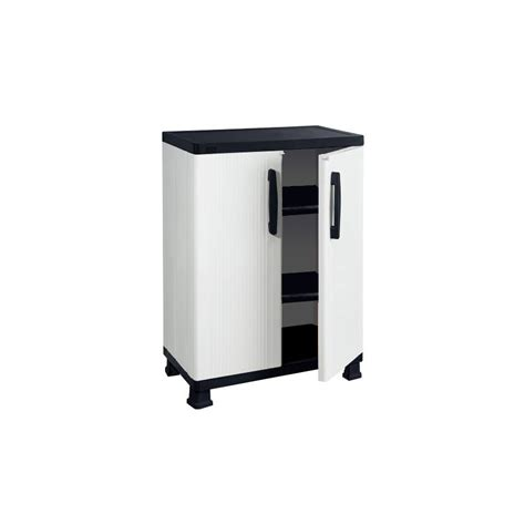 plastic storage cabinets lowes shop enviro elements 36 25 in h x 26 75 in w x 14 75 in d
