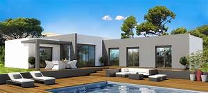 modele de maison moderne a construire ventana blog With modele de maison en u