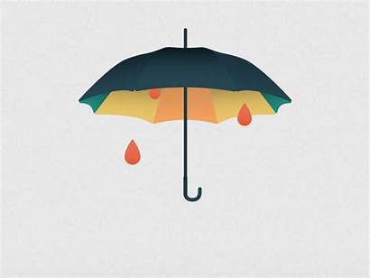 Showers April Umbrella Rain Shower Wet Animation
