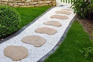 recouvrir de gravier film polyane ou feutre geotextile With allee de jardin en cailloux