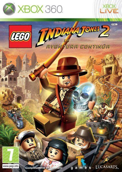 Lego marvel's avengers (xbox 360). LEGO Indiana Jones 2 para Xbox 360 - 3DJuegos