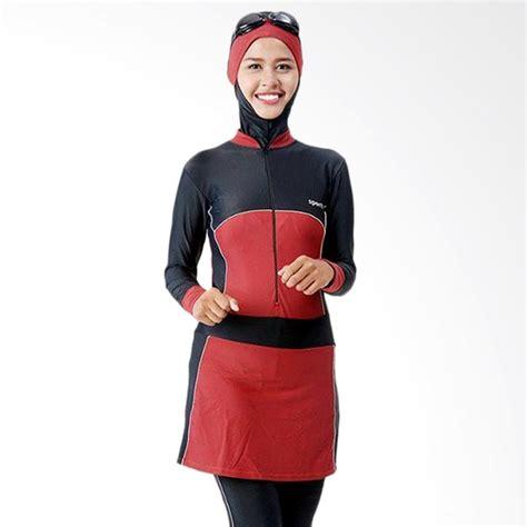 baju wanita spandex jual sporte baju renang muslimah hitam maroon sm 57