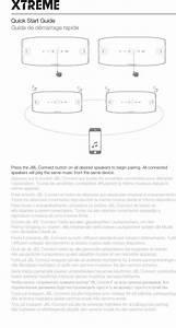 Harman Jblxtreme Portable Bluetooth Speaker User Manual