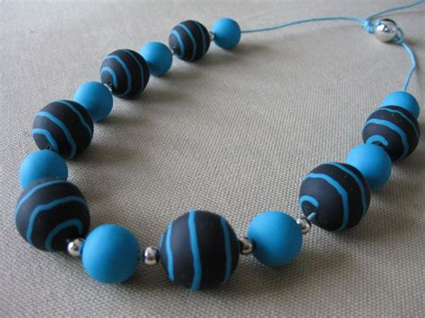 collier en pate fimo cr 233 ations 187 collier