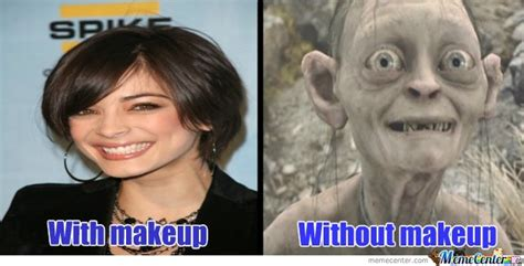 No Makeup Meme - image gallery no makeup meme