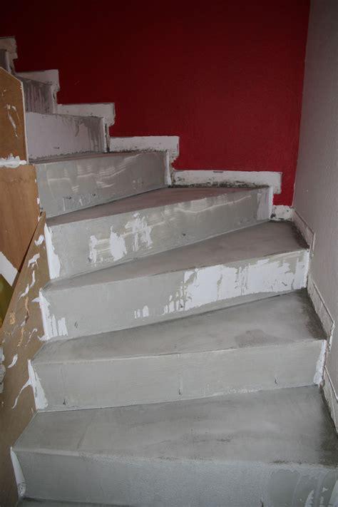 r 233 novation d un escalier en b 233 ton avec finition en b 233 ton cir 233