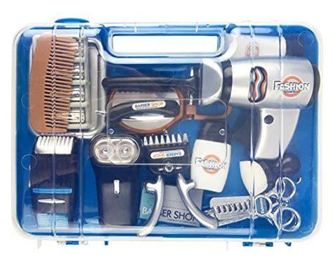 Fashion Barber Pretend Play Tool Kit, Hair Stylist Salon