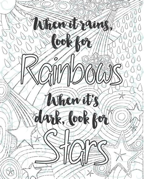 adult inspirational coloring page printable