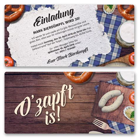 einladungskarten zum oktoberfest bestellen