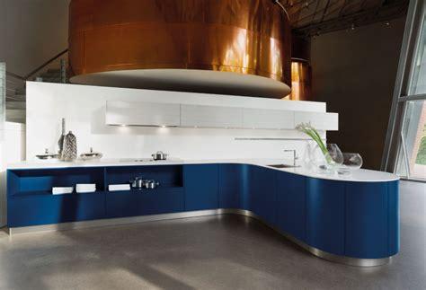 Die Blaue Designküche Von Häcker
